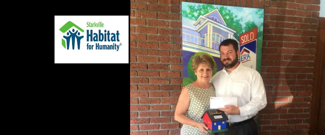 ERA donates $500 to Habitat for Humanity-Starkville MS