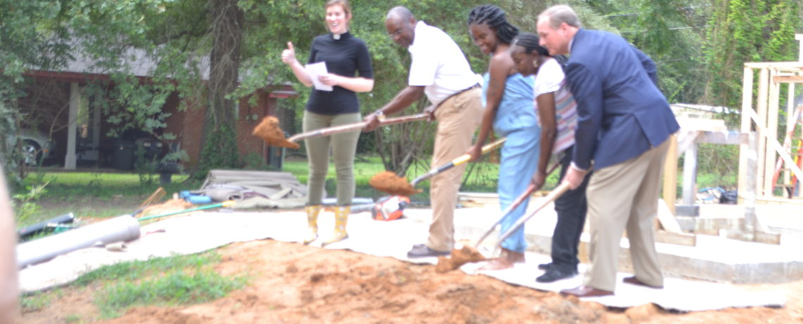 Ground Broken on 10th Annual Maroon Edition House