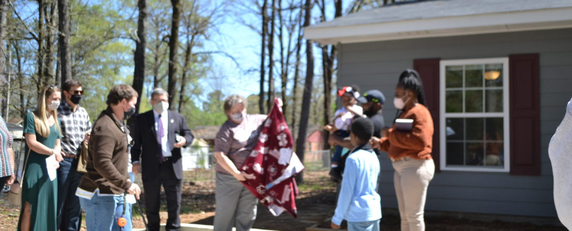 12th Starkville Habitat Home Complete Amid Pandemic